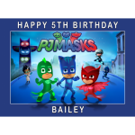 PJ Masks Reactangle Edible Cake Topper