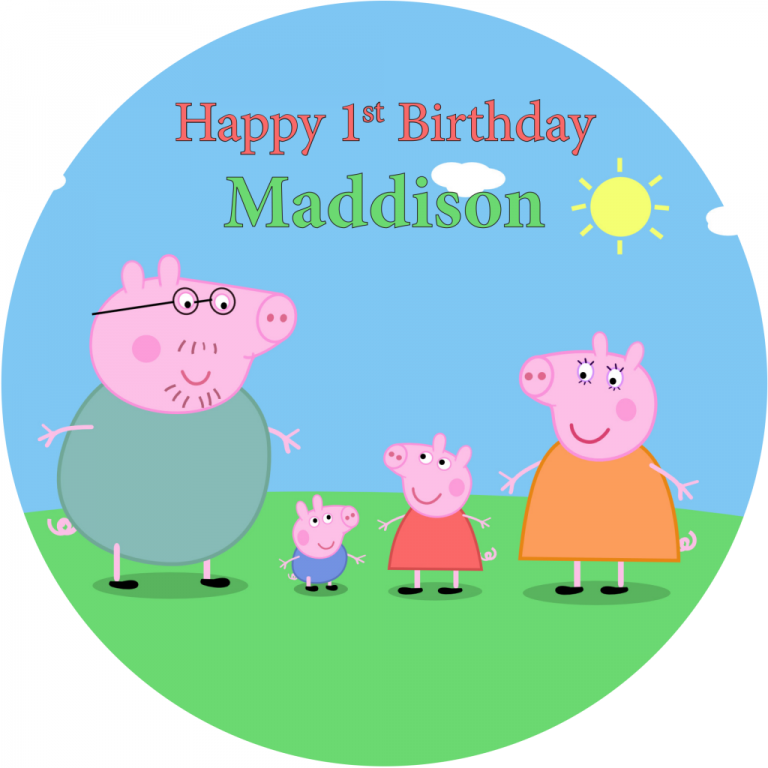 Peppa Pig Round (A)