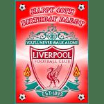 Liverpool Football Club Rectangle Edible Cake Topper