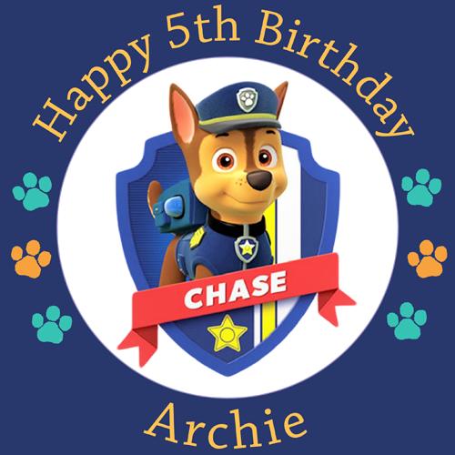 Paw Patrol Chase #1