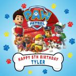 Paw Patrol Square Edible Cake Topper #1