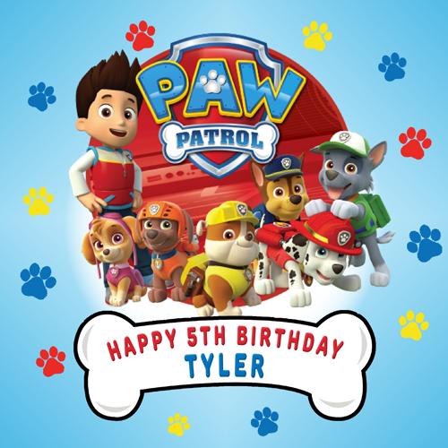 Paw Patrol Square #1