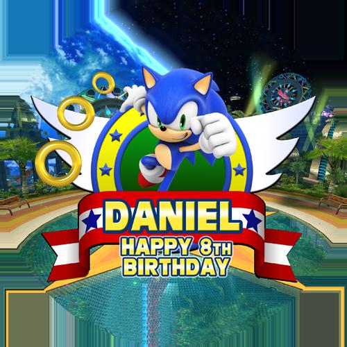 Wondrous Sonic The Hedgehog Sweet Tops Personalised Edible Cake Funny Birthday Cards Online Elaedamsfinfo