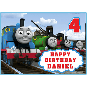 Thomas the Tank Engine Rectangle Edible Cake Topper