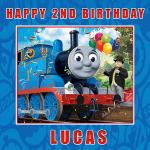 Thomas the Tank Engine Square Edible Cake Topper