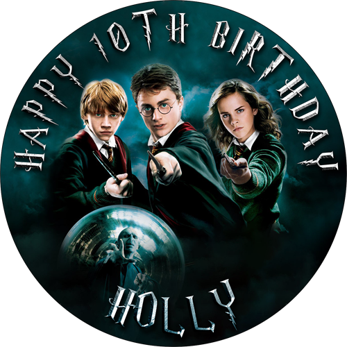 Harry Potter | Sweet Tops - Personalised, Edible Cake ...