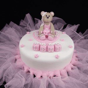 Handmade Ballerina Bear Cake Topper Cake Decoration