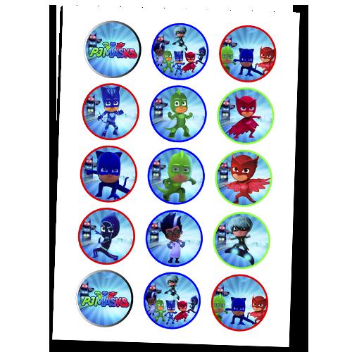 PJ Masks Cupcake #1
