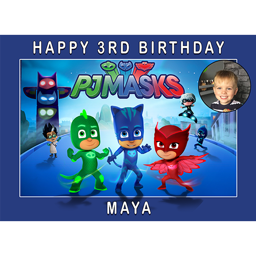PJ Masks Rectangle +Photo