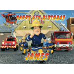 Fireman Sam Rectangle Edible Cake Topper #1