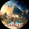 Assassins Creed Origins Round Edible Cake Topper