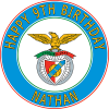 Benfica United Football Club Round Edible Cake Topper