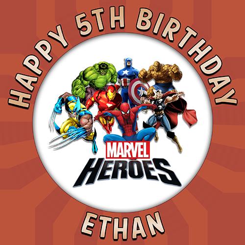 Marvels Heroes Round