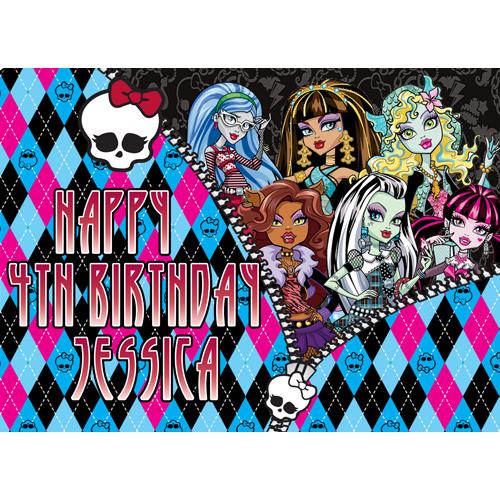 Monster High Rectangle
