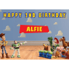 Toy Story Rectangle Edible Cake Topper