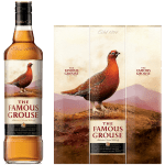 Famous Grouse Label Edible Cake Topper