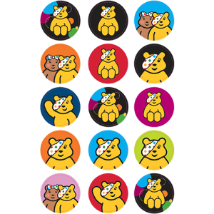 Pudsey Chidren in Need Edible Cupcake Toppers