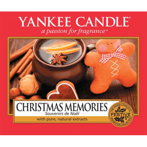 Yankee Candle Christmas Memories Label Edbile Cake Topper