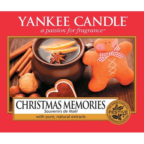 Yankee Candle Label Christmas Memories