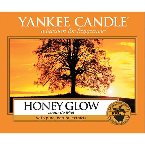 Yankee Candle Label Honey Glow