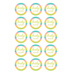 Baby Shower Edible Cupcake Toppers