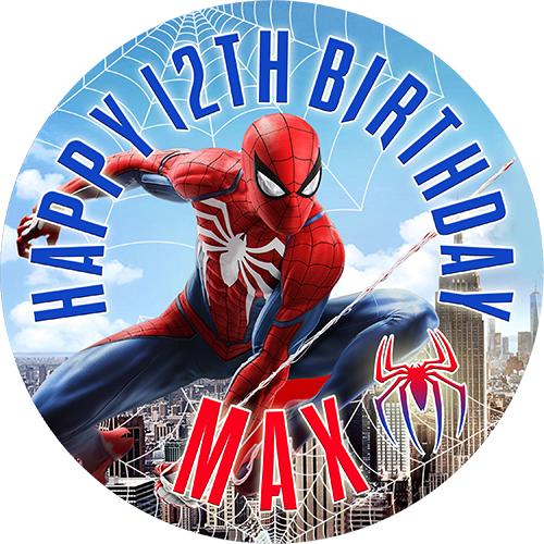 Spider-Man | Sweet Tops - Personalised, Edible Cake ...