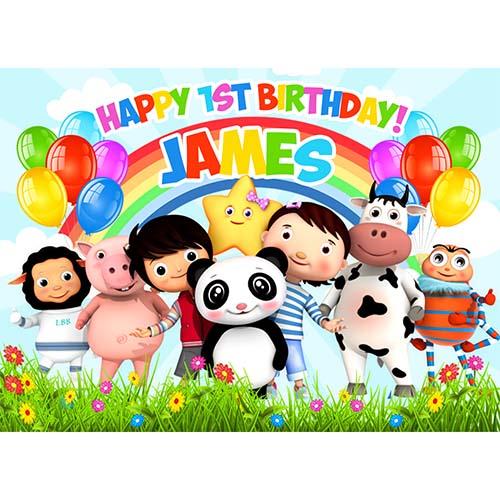 Fabulous Little Baby Bum Sweet Tops Personalised Edible Cake Toppers Personalised Birthday Cards Veneteletsinfo
